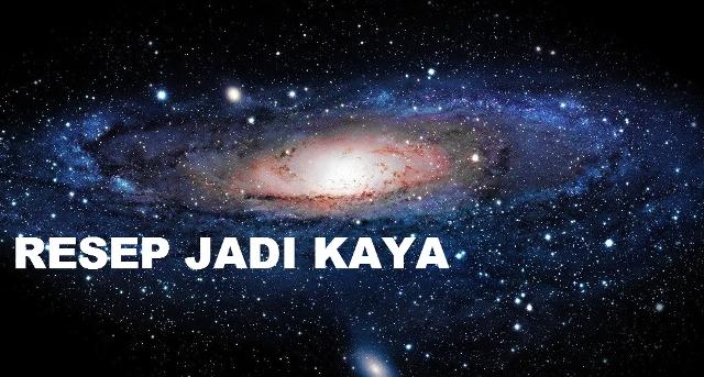 RESEP JADI KAYA = SEDEKAH!!