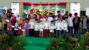 santunan 30 anak yatim di jibf 05 januari