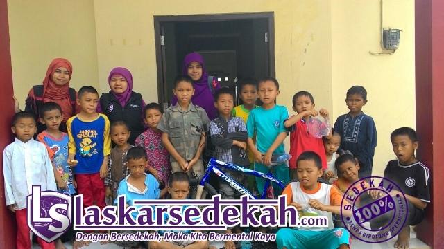 Sepeda Untuk Anak-anak Panti Asuhan