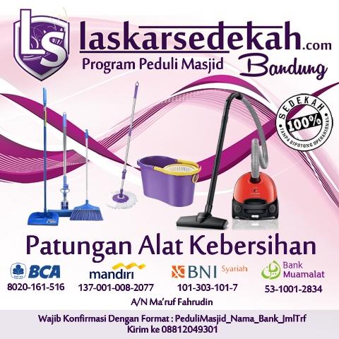 Program Peduli Masjid Laskar Sedekah Bandung