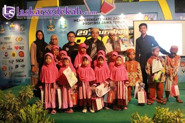 Launching Laskar Sedekah Surabaya