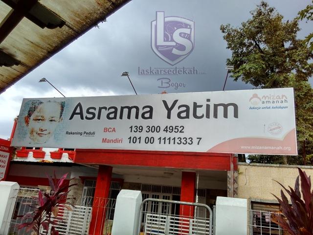 Silaturahmi Paskar Bogor dan Eksekusi ke Rumah Yatim