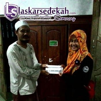 LS Semarang: Membantu panti asuhan Al Harun
