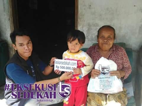 Eksekusi Sedekah April 2016 Yogyakarta