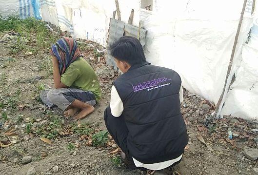 Action di Kota Tepi Laut Sulawesi