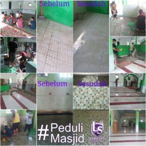 LSSemarang: BBM (Bersih Bersih Masjid)