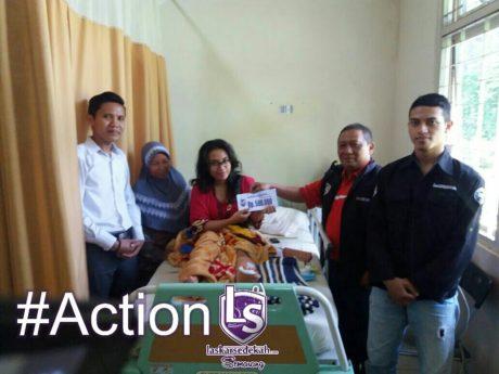 LS Semarang: Menyantuni korban tabrak lari