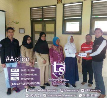 LS Semarang: Menyantuni anak yatim