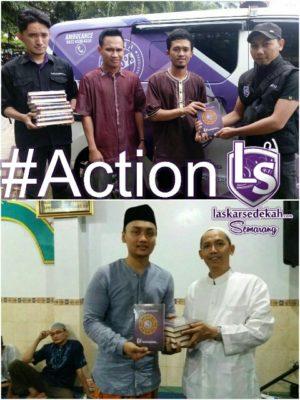 LS Semarang: Action Wakaf Al-Qur'an