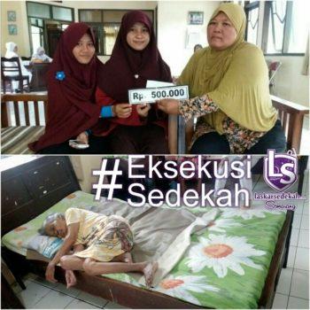 LS Semarang: Membantu mbah Suliyah (85 th)