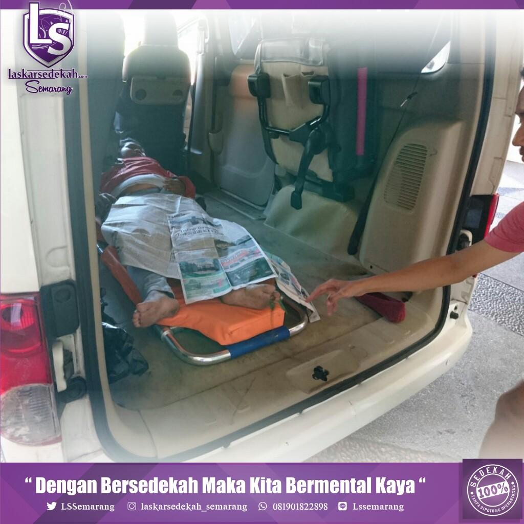 Ambulan Gratis Laskar Sedekah Semarang Kembali Beraksi