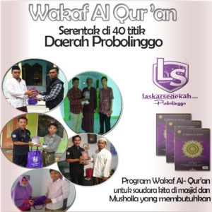 wakaf al qur'an copy