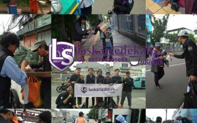 LS Jakarta : Tebar Nasi Bungkus (TNB)   Ahad, 13 Januari 2019