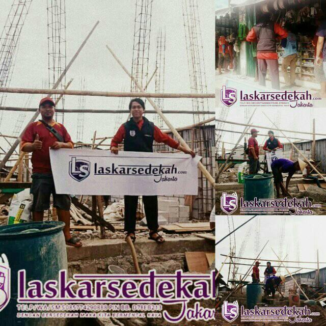 LS Jakarta : Sedekah untuk Musholla Nurusyubban – Muara angke, Penjaringan   Ahad, 20 Januari 2019
