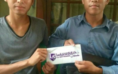 LS Jakarta : Eksekusi Sedekah kepada Ibu Mardiah(keluarga) (53th) di Jl.Pluit Dalam No.17,  Penjaringan, Jakarta Utara   Ahad, 17 Februari 2019
