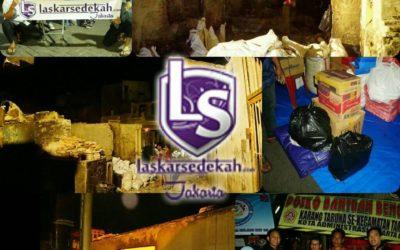 LS Jakarta : Eksekusi Sedekah kepada korban kebakaran di Jl. Thalib 2, Krukut, Tamansari-Jakarta Barat   Rabu, 20 Maret 2019
