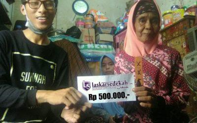 LS Jakarta : Eksekusi Sedekah kepada Ibu Suhera (Janda, 54th) di Cengkareng, Jakarta Barat | Senin, 03 Juni 2019