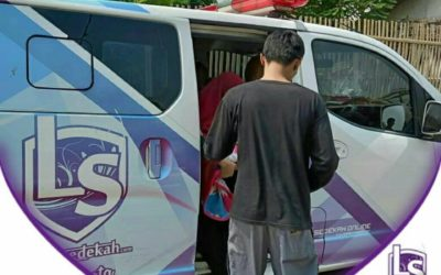 LS Jakarta : Ambulance Gratis kepada Ibu Astri di Kalideres, Jakarta Barat | Rabu, 03 Juli 2019