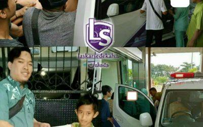 LS Jakarta : Eksekusi Sedekah kepada Pak Suyanto (40th) di RSUD Cengkareng | Ahad, 07 Juli 2019