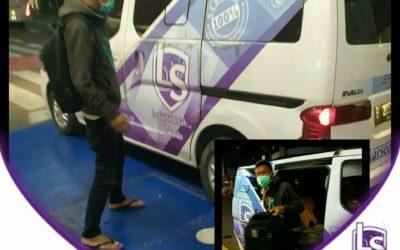 LS Jakarta : Ambulance Gratis kepada Pak Memori Suseko (29th) ke RS Harapan Kita, Jakarta Barat | Selasa, 30 Juli 2019