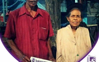 LS Jakarta : Eksekusi Sedekah kepada Pak Minun (84th) dan Ibu Sukinah (55th) di Kapuk Muara, Jakarta Utara | Selasa, 13 Agustus 2019