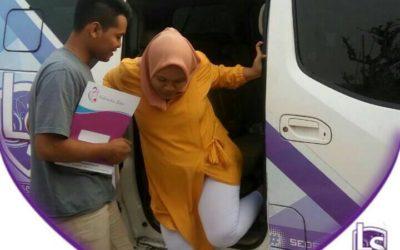 LS Jakarta : Ambulance Gratis kepada Bu Marlina (22 tahun) di Pedongkelan, Cengkareng | Sabtu, 07 September 2019