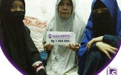 LS Jakarta : Eksekusi Sedekah kepada Bu Suhartati (55 thn) di RS Dharmais, Jakarta Barat | Selasa, 03 September 2019