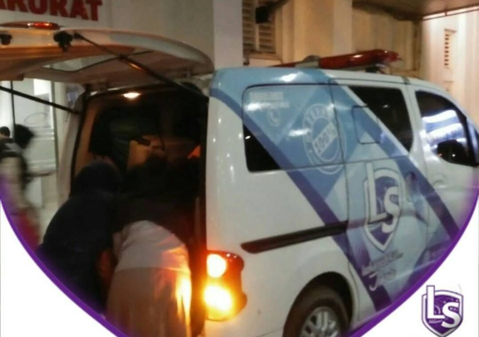 LS Jakarta : Ambulance Gratis untuk Mba Solihah (27 tahun) dari Kampung Kandang Sapi, Malimping menuju ke RSUD Cengkareng, Jakarta Barat | Sabtu, 07 Desember 2019