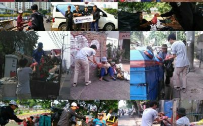LS Jakarta : Tebar Nasi Bungkus (TNB) di sekitar Tanah Aabang, Jakarta Pusat | Ahad, 10 November 2019