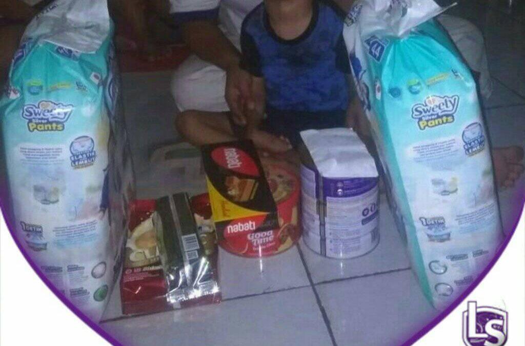 LS Jakarta : Eksekusi Sedekah – Santunan Orang Sakit untuk dek Banyu Saputra (5th) yang bertempat tinggal di Jl. Kampung Bandar, Pademangan, Jakarta Utara | Ahad, 05 April 2020