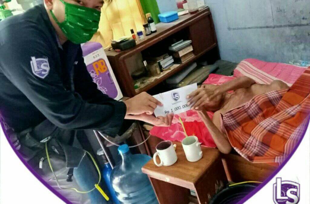 LS Jakarta : Eksekusi Sedekah – Santunan Orang Sakit untuk Pak Ugi (64th) Warga Rawa Lele, Cakung, Jakarta Timur | Sabtu, 11 Juli 2020