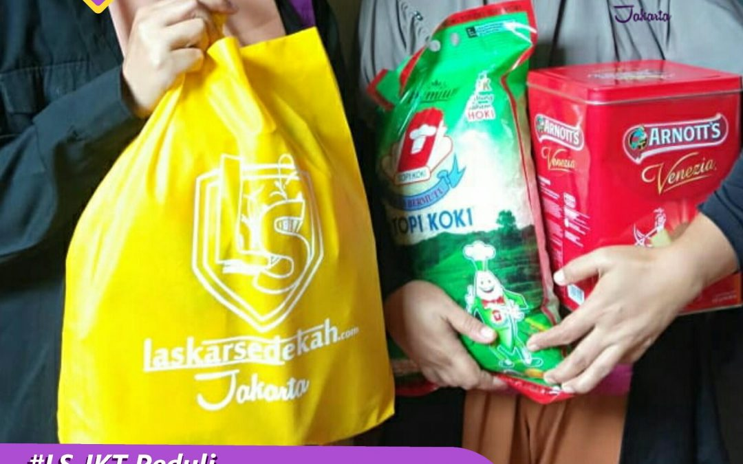 "LS Jakarta : Eksekusi Sedekah ""Donasi Dampak Wabah Covid-19"" Tahap 3 | Mei 2020"