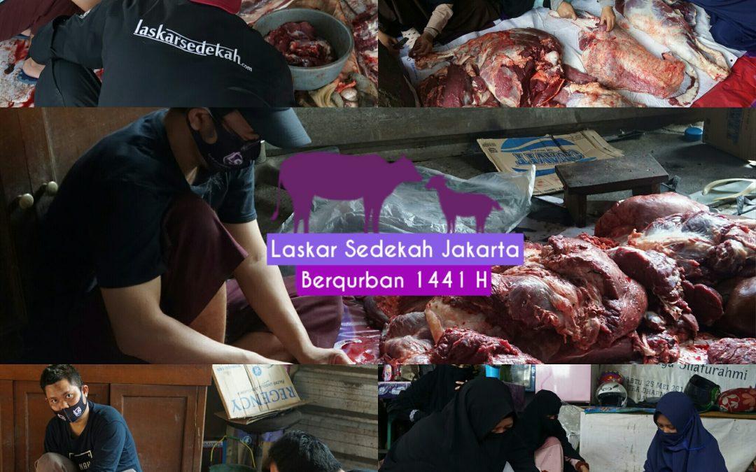 LS Jakarta : Laskar Sedekah Jakarta Berqurban   Jum'at, 10 Dzulhijjah 1440 H / 31 Juli 2020 M