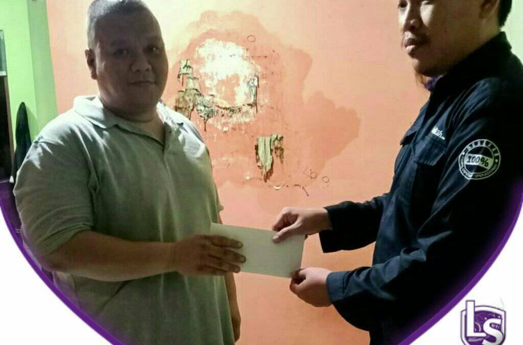 LS Jakarta : Eksekusi Sedekah Santunan kepada Pak Steve (muallaf)
