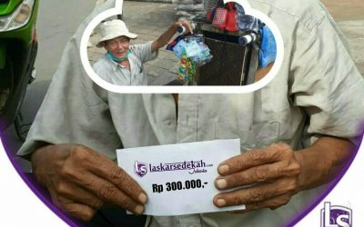 LS Jakarta : Eksekusi Sedekah Pak Sarji (63th) asal Cirebon