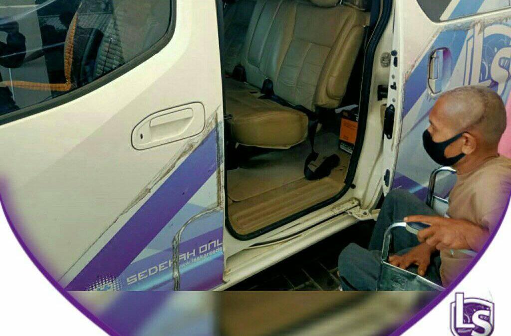 LS Jakarta : Ambulance Gratis untuk Pak Kharsono (50th) menuju RS. Sumber Waras, Jakarta Barat | Selasa, 01 September 2020