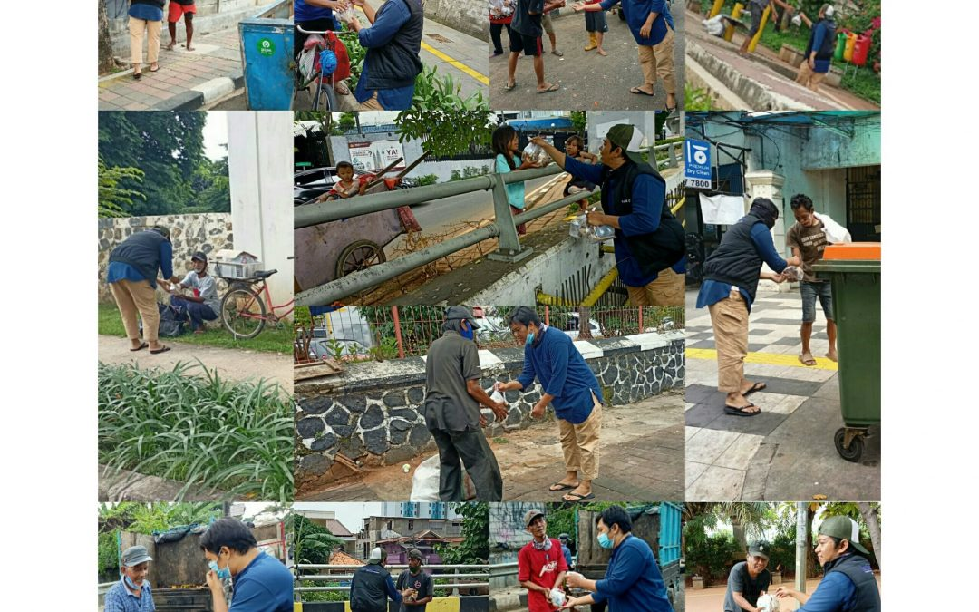 LS Jakarta : Tebar Nasi Bungkus (TNB) di wilayah Teluk Gong, Pejagalan, Jakarta Utara | Ahad, 25 Oktober 2020