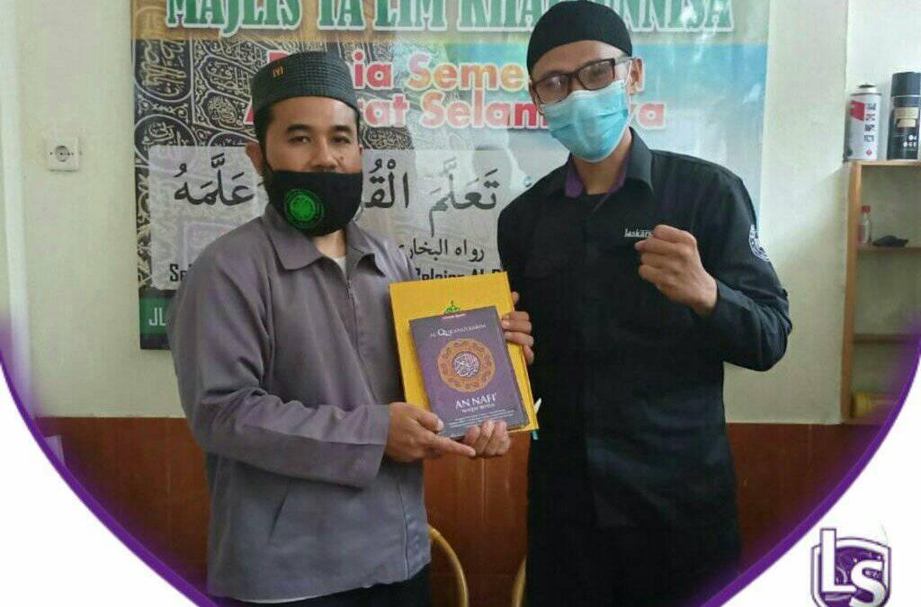 LS Jakarta : Wakaf Al Qur'an untuk Majelis Ta'lim Khairunnisa di daerah Ciracas, Jakarta Timur Pusat | Ahad, 25 Oktober 2020