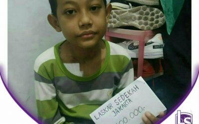 LS Jakarta : Eksekusi Sedekah – Santunan Orang Sakit untuk Dek Zaid Al-Khatiri yang bertempat tinggal di daerah Ciracas, Jakarta Timur